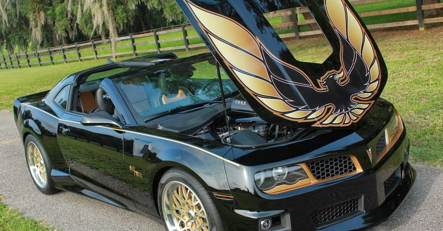 14 years after production ended, you can have a custom 2016 trans am14 years after production ended, you can have a custom 2016 trans am!